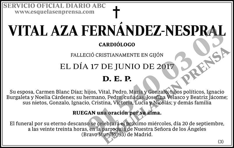 Vital Aza Fernández-Nespral